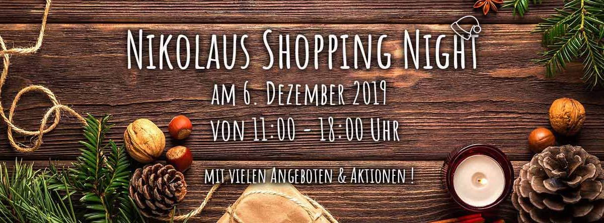 Ho Ho Ho! Am 06.12.19 ist wieder Nikolaus Shopping in unserem Ladengeschäft! - Nikolaus Shopping in unserem Ladengeschäft!