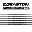 Easton XX75 PLATINUM PLUS Aluminium Schaft 1716 Volle Länge