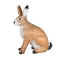 3D Tier Franzbogen großer Feldhase