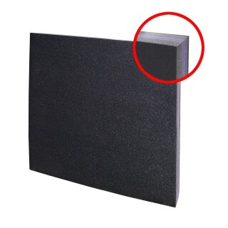 Zielscheibe Polifoam 80 x 80 x 10 cm