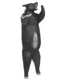 3D Tier Franzbogen Stehender Schwarzbär