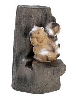 3D Tier Franzbogen Eichhörnchen & Backstop