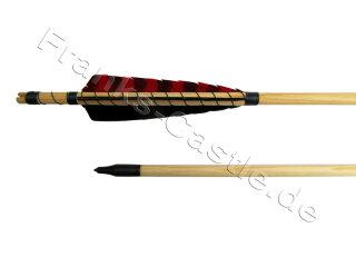Mittelalterlicher Holzpfeil northern Pine 50 - 55 Typ 1