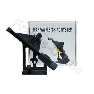 Befiederungsgerät Bearpaw Deluxe II für gerade Befiederung