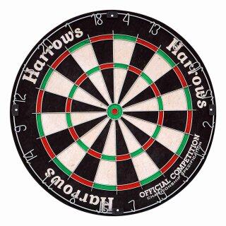 Dartboard Harrows Official Competition Bristle Dartboard OCBB