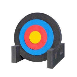 Outdoor Zielscheibe mit FITA Auflage und Ständer 60 x 7 cm