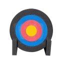 Outdoor Zielscheibe mit FITA Auflage und Ständer 60...