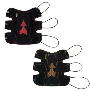 Armschutz Tiro Klassik groß mit Pfeilmuster