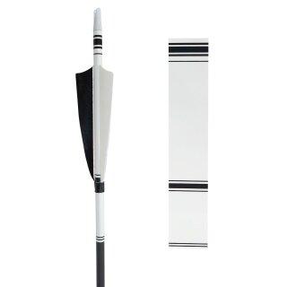 Bearpaw Pfeilcresting weiß schwarz weiß