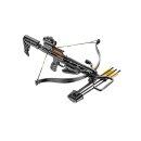 Recurve Armbrust JAG II Pro Set 175 lbs / 260  fps schwarz