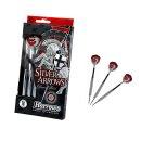 3er Set Steeldarts Harrows Silver Arrows
