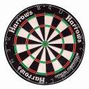 Set Dartboard Harrows Official Competition Bristle...