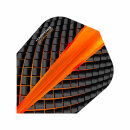 Dart Flights Harrows Quantum orange
