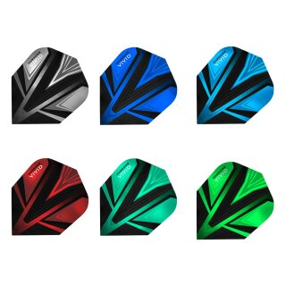 Dart Flights Harrows Vivid