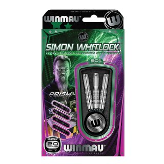 3er Set Softdarts Winmau Simon Whitlock Silver Colour 20 g