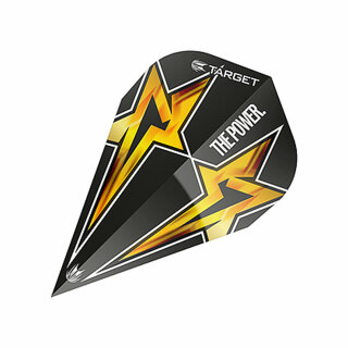 Dart Flights Target Power Star Black Vapor G3