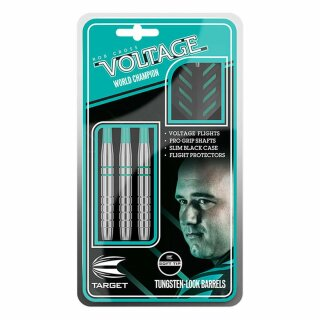 3er Set Softdarts Target Rob Cross Silver Voltage 18 g