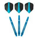 Flight und Shaft Set Harrows Twin Pack aqua