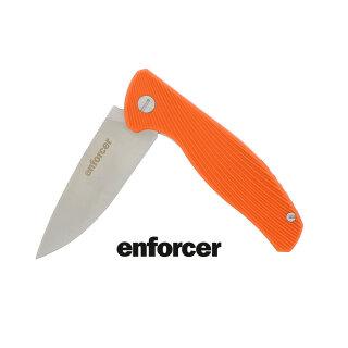 Enforcer Einhandmesser Gambino mit orangenem Griff