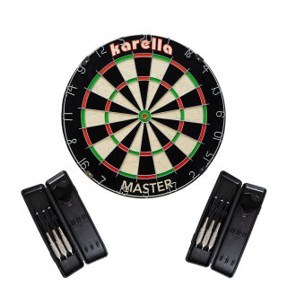Dartboard Karella Bristle Dartboard Master Set
