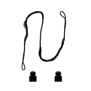 Ersatzsehne Crossbow String mit Endkappen für 50 lbs und 80 lbs Pistolenarmbrust