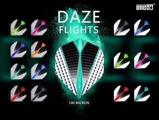 Dart Flights one80 Daze white