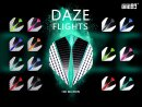 Dart Flights one80 Daze silver