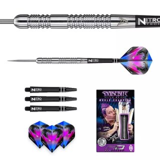 3er Set Steeldarts Red Dragon Snakebite Euro 11