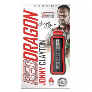 3er Set Softdarts Red Dragon Jonny Clayton Lunar 50th