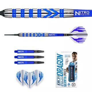 3er Set Softdarts Red Dragon Gerwyn Iceman Price