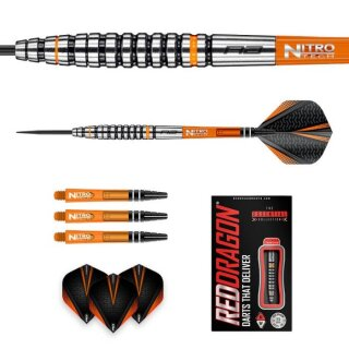 3er Set Steeldarts Red Dragon Amberjack 14