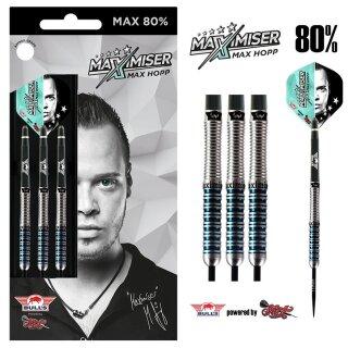 3er Set Steeldarts Bulls Max 80% Maximiser
