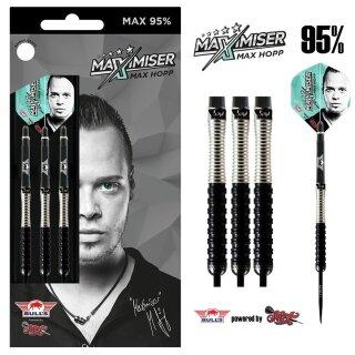 3er Set Steeldarts Bulls Max Hopp 95% Max95