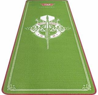 Dartmatte Bulls Carpet Mat Green 241 x 80cm