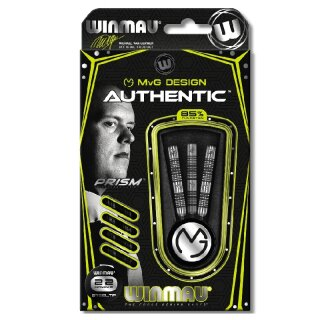 3er Set Steeldarts Winmau MvG Authentic