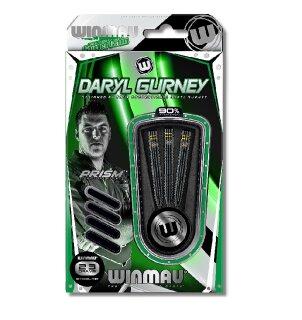 3er Set Steeldarts Winmau Daryl Gurney Black Special Edition