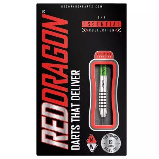 3er Set Steeldarts Red Dragon Featherlite 9