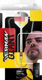 3er Set Steeldarts Target Gabriel Clemens German Giant