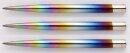 3x Winmau Dart Steelpoints Rainbow