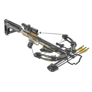 Compoundarmbrust HEX-400 Set 210lbs / 395fps Camo
