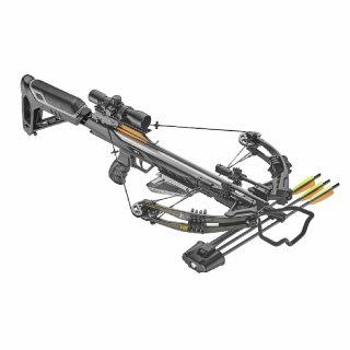 Compoundarmbrust HEX-400 Set 210lbs / 400fps Schwarz