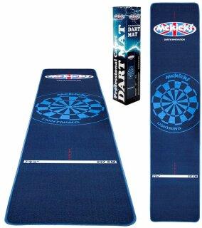 Dartmatte McKicks Blue 300x65 Carpet