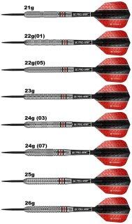 3er Set Steeldarts Target Vapor8