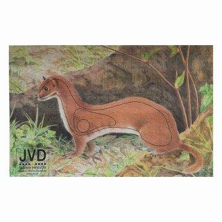 Scheibenauflage Hermelin  22 cm x 31,5 cm