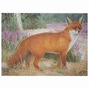 Scheibenauflage Fuchs  50 cm x 67,5 cm