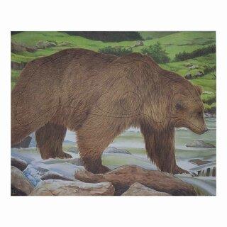 Scheibenauflage Bär  95 cm x 119 cm