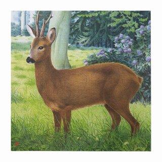 Scheibenauflage Reh  81 cm x 78,5 cm