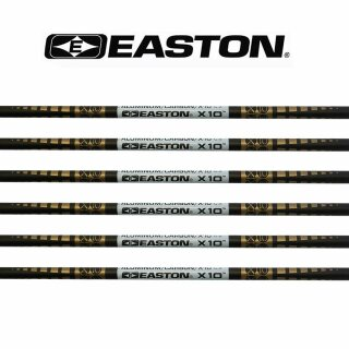 12er Set Easton X10 Schäfte
