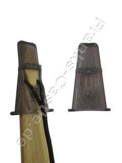 Saunders Endenschutz aus Kunststoff für Bögen