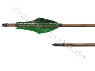 Mittelalterlicher Holzpfeil northern Pine 60 - 65 Typ 4